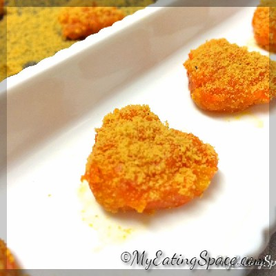 #Celebrate this #valentinesday with a healthy sweet halwa recipe made with carrot and orange - Carrot Orange Halwa Heart....