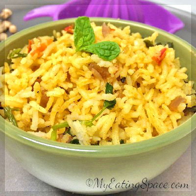 One-pot Tomato Rice, also called thakkali sadam is a mouth-watering, taste bud tingling treat for lunch or dinner which is very easy to prepare.