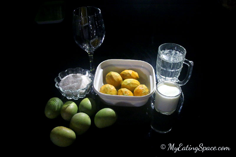 Mango milk Shake is a thick and deliciously tempting cool drink for the hot summer. The recipe is very simple to prepare and requires only few ingredients.