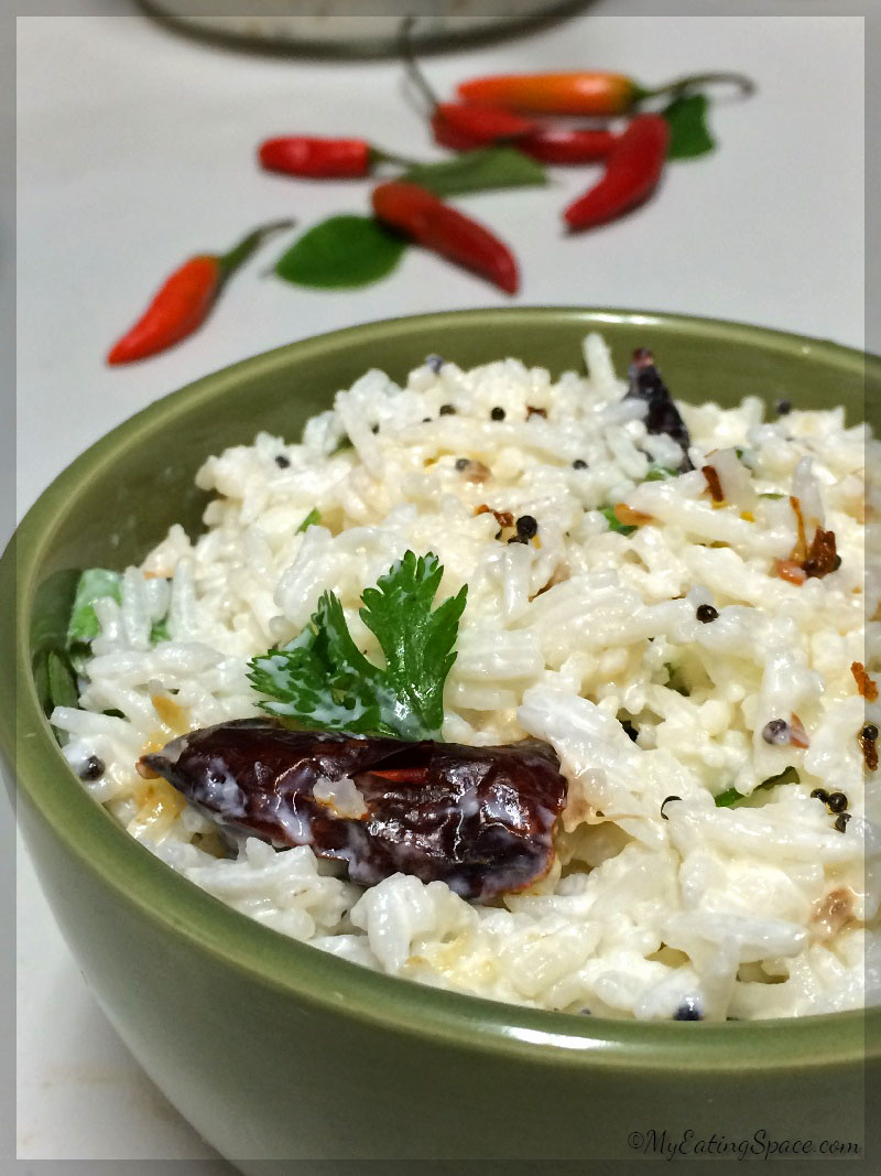 Curd Rice (Indian Rice With Yogurt) Recipes — Dishmaps