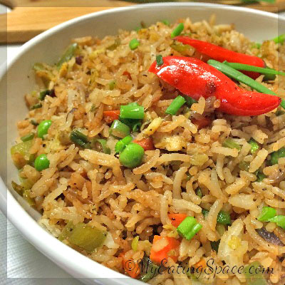 Special fried rice is a treat in a one-pot dish. They are perfect meals with all the healthy ingredients in a single plate. Colorful, nutritious and spicy in chinese style yet homemade.
