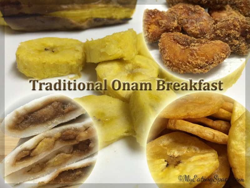 Traditional Onam Breakfast