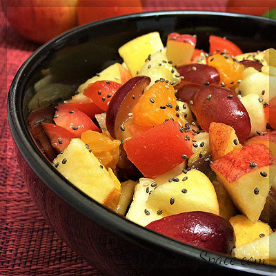 A healthy bowl of fruit salad will make any day refreshing. Just look for some simple tips and make your perfect fresh fruit salad. Get the recipe at myeatingspace,com