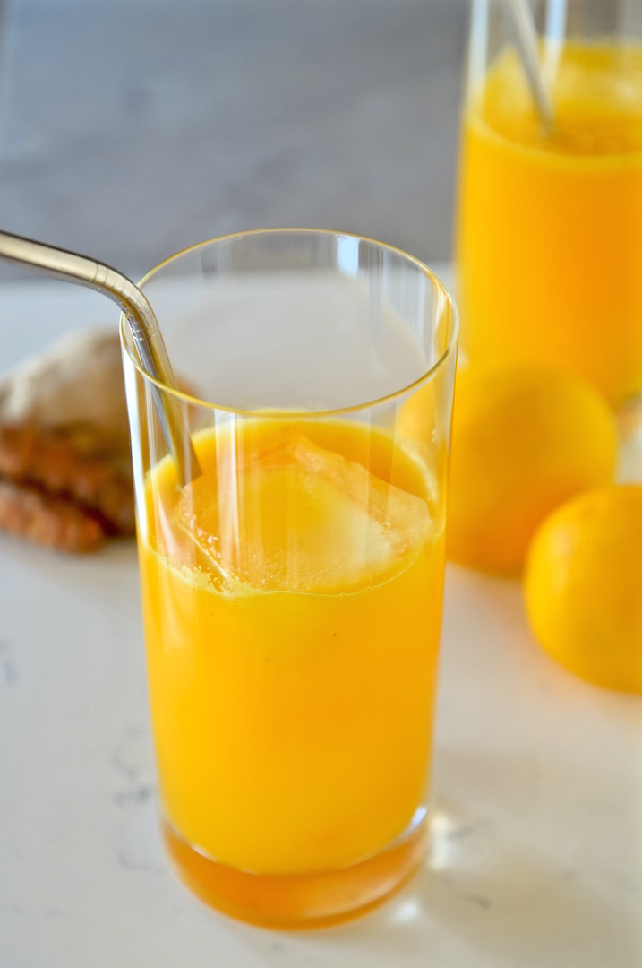MIND Diet Healthy recipes with brain food, Anti-Inflammatory Lemon Turmeric Tonic