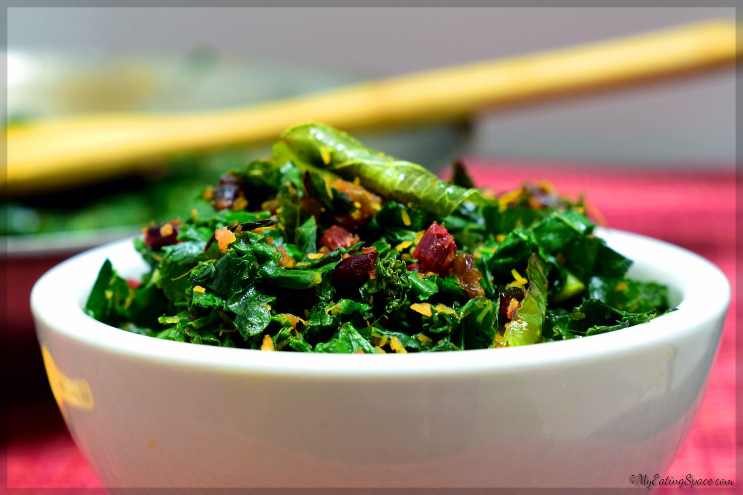 Sauteed Beet Greens and Kale - My Eating Space