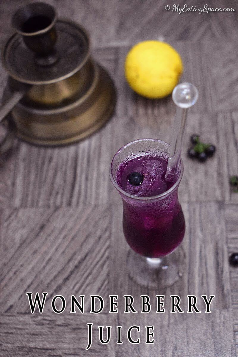 Wonderberry Juice, this purple lemonade is a summer drink and with the elegant natural color, looks like the drink from a Disney tale or a halloween drink.Wonderberry Juice, this purple lemonade is a summer drink and with the elegant natural color, looks like the drink from a Disney tale or a halloween drink.
